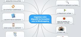 Organisez votre dispositif de formation avec le mindmapping